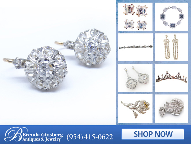 Antique Diamond Jewelry in and near Boca Raton FL
