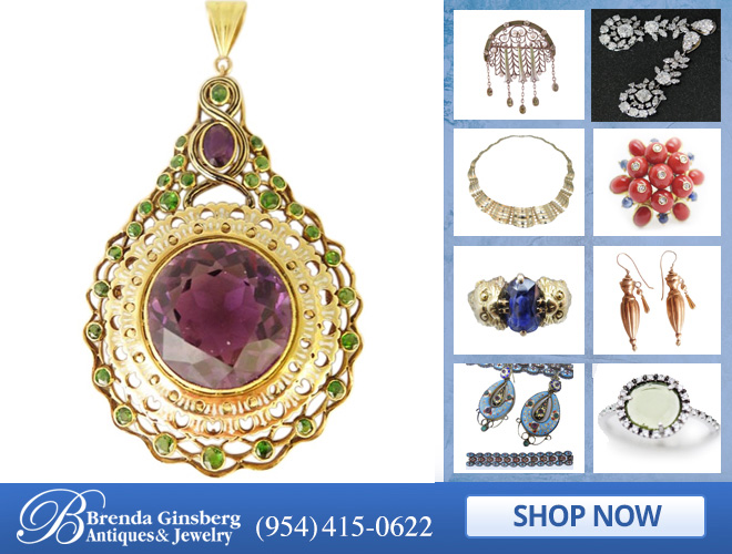 Antique European Jewelry in and near Boca Raton FL