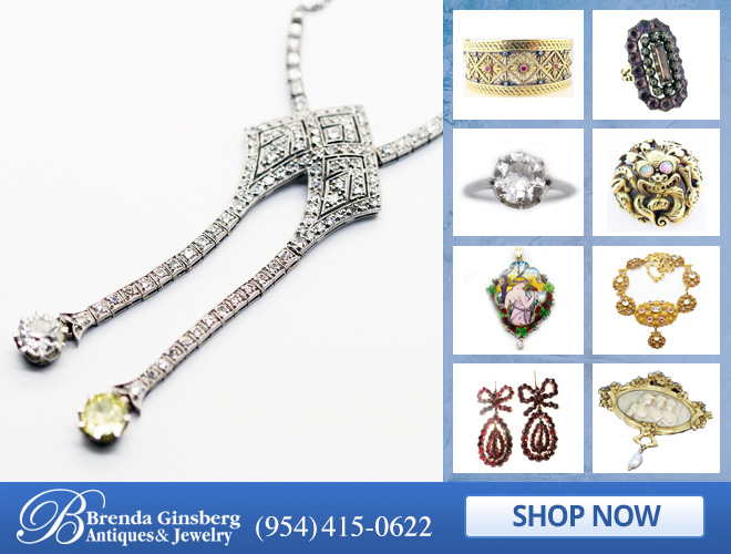 Antique French Jewelry in and near Boca Raton FL