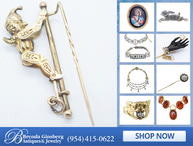 Antique Jewelry in and near Boca Raton FL