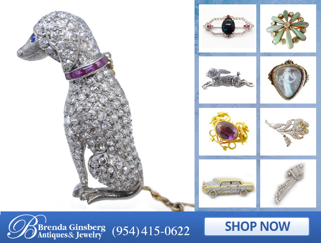 Brooch Jewelry in and near Boca Raton FL