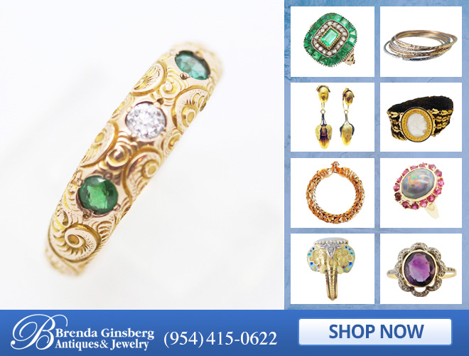 Antique Anniversary Jewelry in and near Miami FL