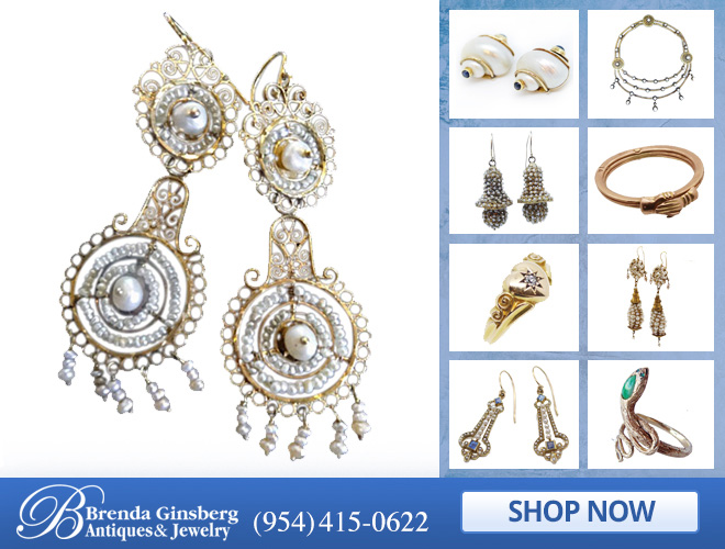 Antique Bridal Jewelry