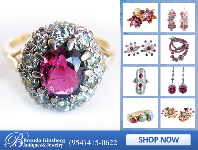 Antique Ruby Jewelry