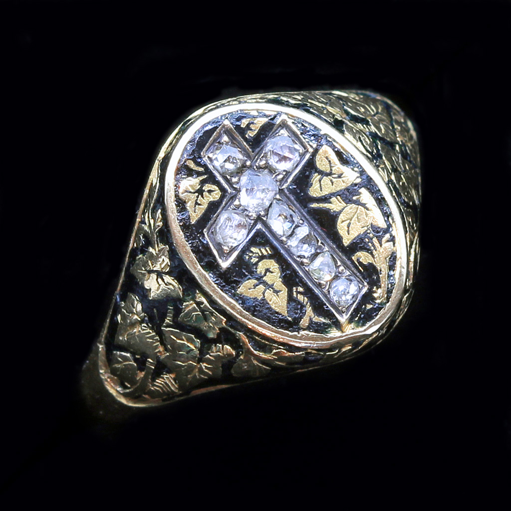 antique jewelry ring Christian