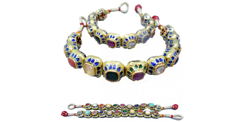 Antique Navaratna 9-gemstone Jewelry. Post 93.